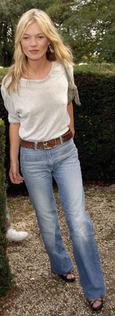 Kate Moss High Waist Jean