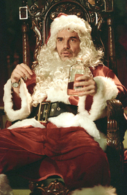 Bad Santa Drunk with Bottle