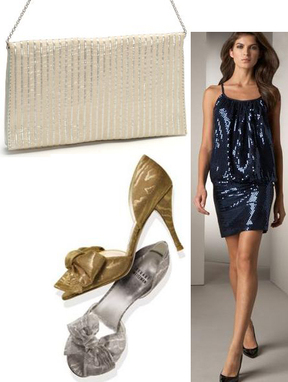 New Years Eve Party Fashion Dresses Accessories Shoes