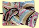 Pucci Print Travel Throw Pillow Eye Shade