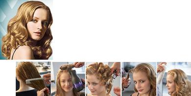 Glamorous Holiday Romantic Waves Hair Tips