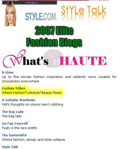 Top 125 Elite Blogs Best Fashion Blogs