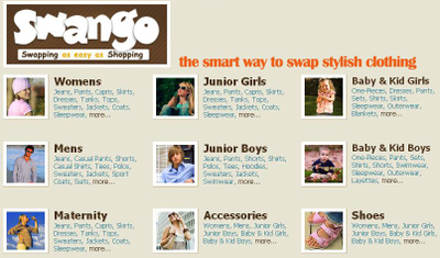 Online Clothing Swap Recycling Consignment Resale Swango