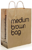 Bloomingdales Iconic Brown Shopping Bag