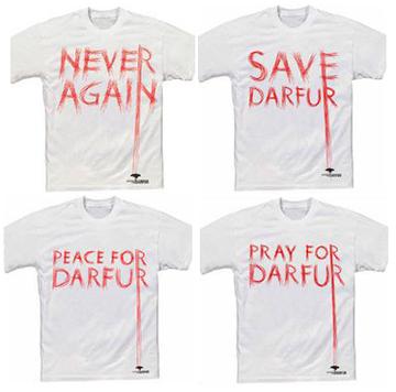 Designers For Darfur Tees