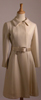 Galanos Vintage Ivory Winter White Wool Coat