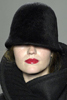 Proenza Schouler Black Chic Wool Cloche