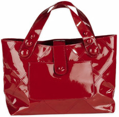 Red Patent Leather Tote Totebags Affordable Fashion Accessories