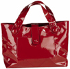 Red Patent Leather Tote