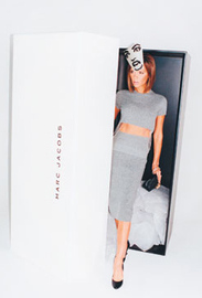 Victoria Beckham Marc Jacobs Ad Gift Box
