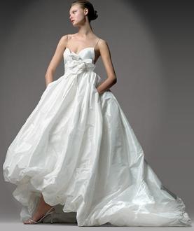 Elegant Amsale Bridal Wedding Gown Dress