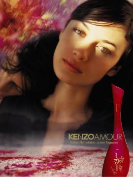 Indian holi kenzo parfums ad Fragrance Perfume