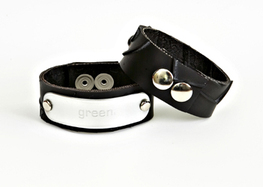 Greenloop green bracelet Leather Fashion Accessories for a Good Cause that gives back