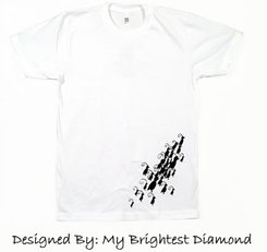 My brightest diamond tee t-shirt Fashion for a Good Cause that gives back