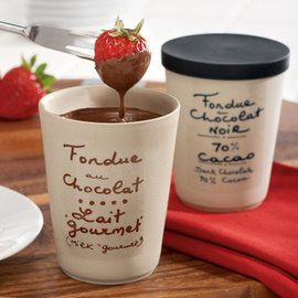 Chocolate Fondue provencal Crocks Cups Housewarming Gifts