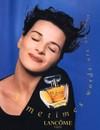 Juliette binoche poeme Lancome fragrance perfume
