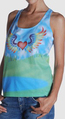 Stella mccartney glastonbury music festival tank