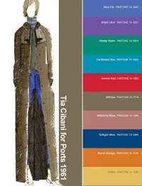 Pantone color report fall 2008 Tia Cibani Ports 1961