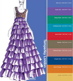 Pantone color report fall 2008 Temperley London