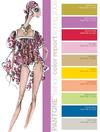 Fashion Week Pantone color forecast report spring 2008