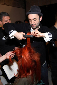Eugene Souleiman for Aveda Backstage Thakoon hair fall 2008