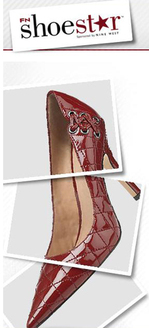 Footwear News Nine West Shoe star Shoe Design contest Red Patent Quilted Pump
