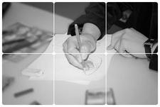 Fashion Shoe Designer Sketching