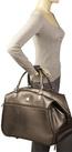 Dvf diane von furstenberg metallic designer luggage