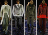 Sean john runway men's fashion fall 2008