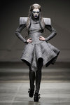 Gareth pugh warrier fashion dress coat fall 2008