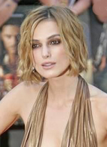 Keira knightley red carpet makeup smoky eye
