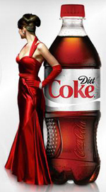 Heidi klum diet coke john galliano red dress giveaway
