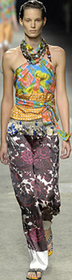Tribal trend bright bold prints dries van noten spring 2oo8