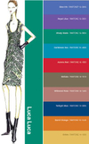 Luca luca Ruben Toledo Fashion Illustration fall 2008 Pantone color Report Palette