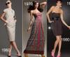 1920s 1950s 1960s 1970s 1980s 1990s Retro influenced fashion