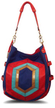 Color block mosaique Hobo bag purse hayden harnett