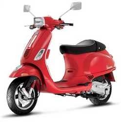 Candy Apple Red vespa s 2008