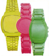 Tom binns neon bright color no time watches timepieces