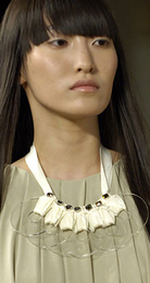 Giant accessories craftsy necklaces Spring 2008 3.1 phillip lim