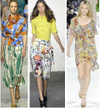 romantic Spring florals fashion runway trend