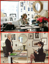 Anna wintour's real office Miranda Priestley office