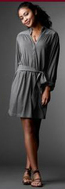 Gray grey jersey dress gap product red