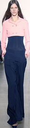 High waisted pants trousers spring 2008 jil sander