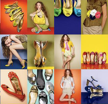 J crew accessories shoes fashion collage