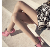 Gucci ad campaign spring 2008 patent pink booties
