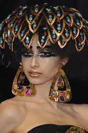 runway fashion accessories cocktail Hat  christian dior couture