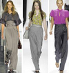 High waisted pants trousers fashion trend