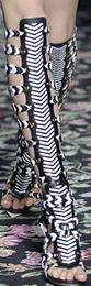Tough touches balenciaga tall tribal gladiator sandal