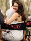 Kristen davis sex and the city movie set
