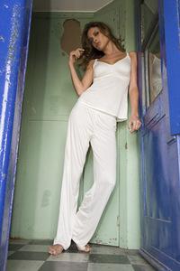 Sex and the city lingerie sexy white pyjamas